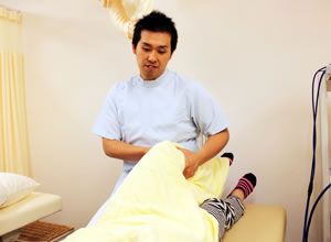 たどころ整骨院のひざ施術について
